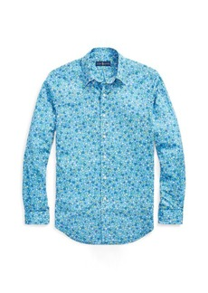 Ralph Lauren Slim Fit Floral Poplin Shirt