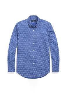 Ralph Lauren Slim Fit Geometric-Print Shirt