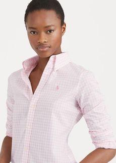 Ralph Lauren Slim Fit Gingham Poplin Shirt