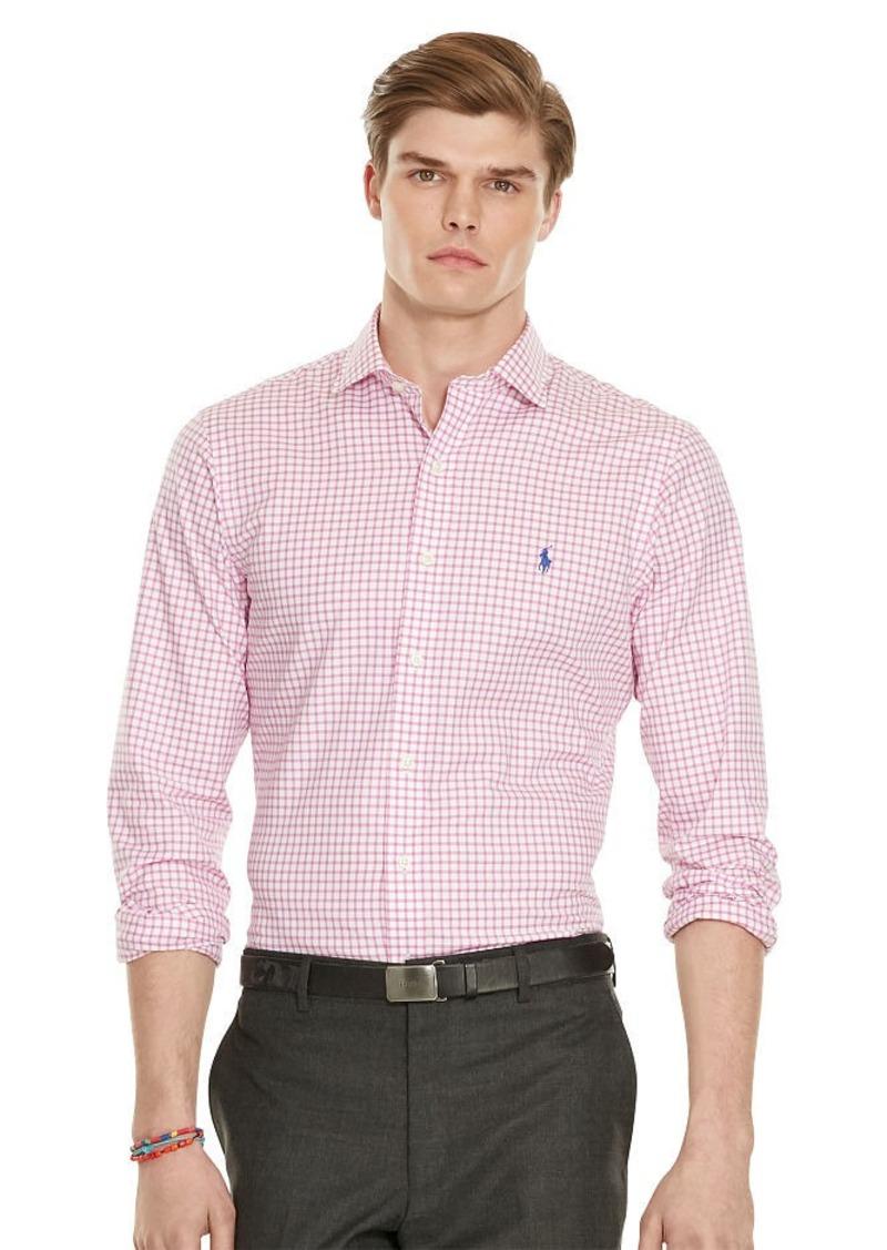 Ralph Lauren Slim-Fit Gingham Twill Shirt