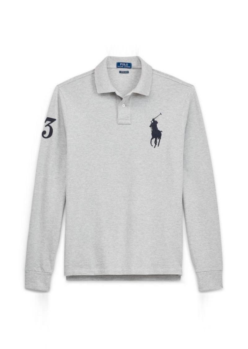 7ba1c8c0 Ralph Lauren Custom Slim Fit Mesh Polo Now $46.99