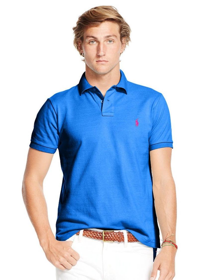 Ralph Lauren Slim-Fit Mesh Polo Shirt