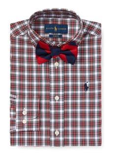Ralph Lauren Slim Fit Plaid Cotton Shirt