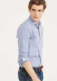 Ralph Lauren Slim Fit Plaid Shirt