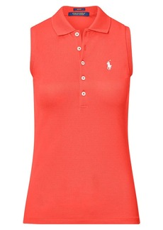 Ralph Lauren Slim Fit Sleeveless Polo