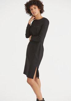 Slim Fit Stretch Cady Dress