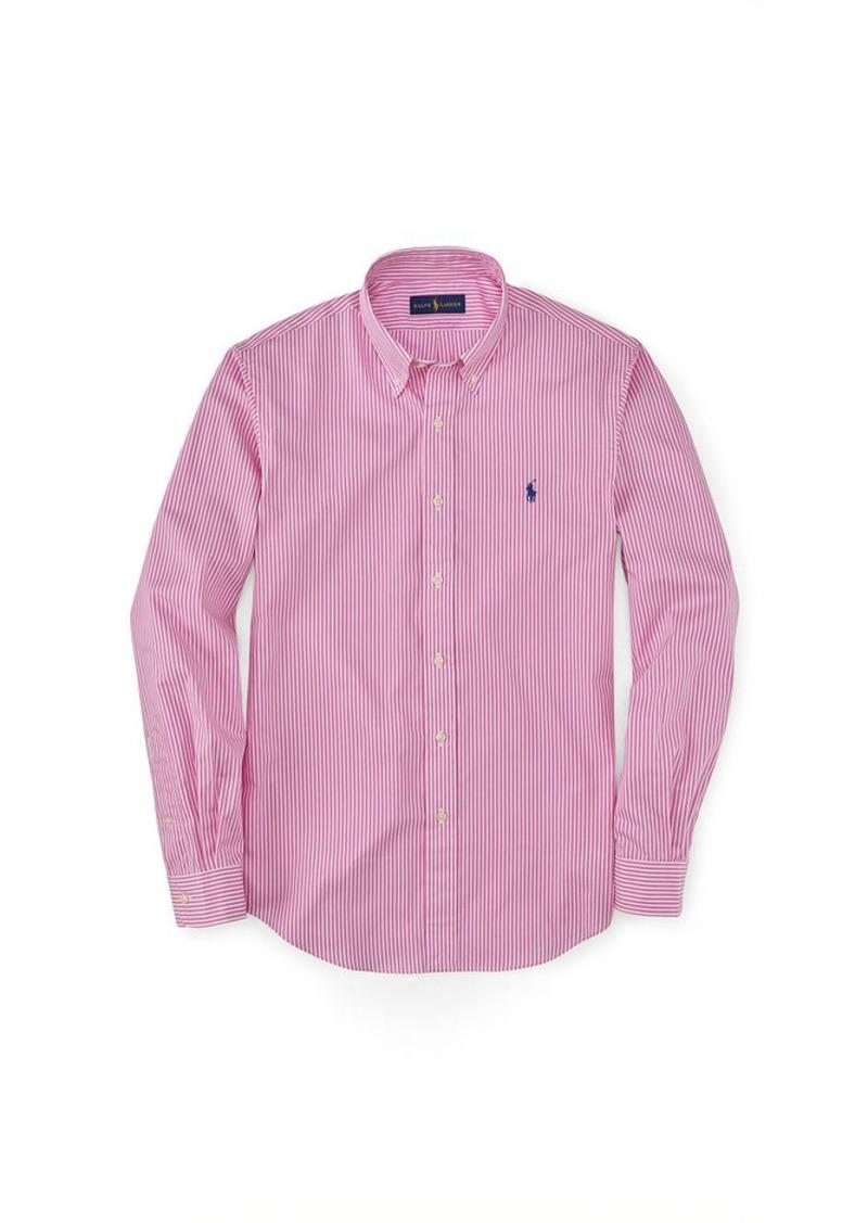 Ralph Lauren Slim-Fit Striped Poplin Shirt