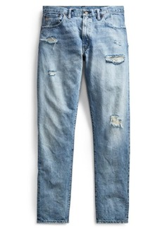 Ralph Lauren Slim Narrow Distressed Jean