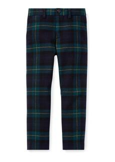 Ralph Lauren Slim Tartan Wool Twill Pant
