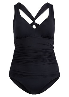 Ralph Lauren Slimming One-Piece Swimsuit