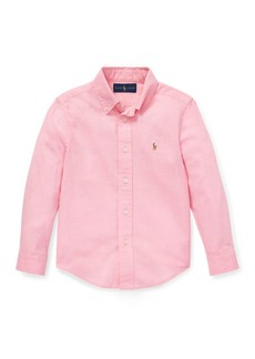 Ralph Lauren Slub Linen-Cotton Shirt