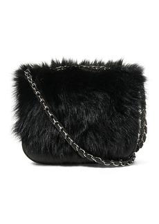 Ralph Lauren Small Shearling Shoulder Bag