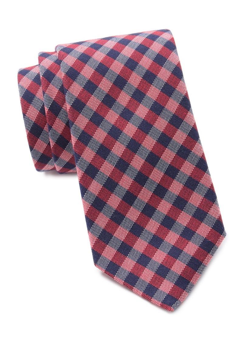 Ralph Lauren Small Two-Color Gingham Tie
