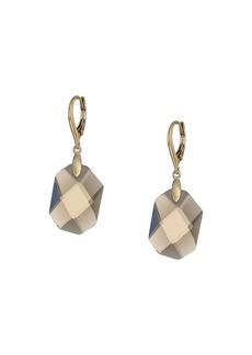 Ralph Lauren Smokey Quartz Drop Earrings