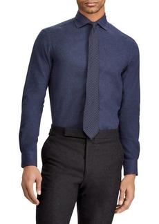 Ralph Lauren Solid Burshed Button-Down Shirt