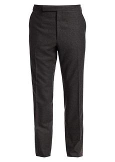 Ralph Lauren Solid Flannel Trousers