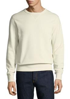 Ralph Lauren Solid Knit Cotton Sweatshirt