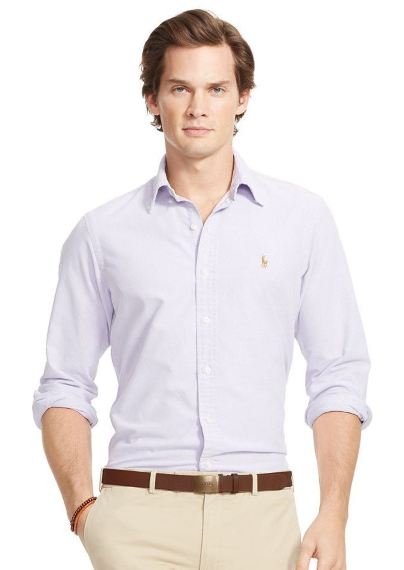 Ralph Lauren Solid Oxford Sport Shirt