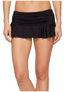 Ralph Lauren Solid Ruffle Skirted Hipster Bottom