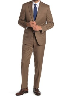 Ralph Lauren Solid Tan 2-Piece Suit
