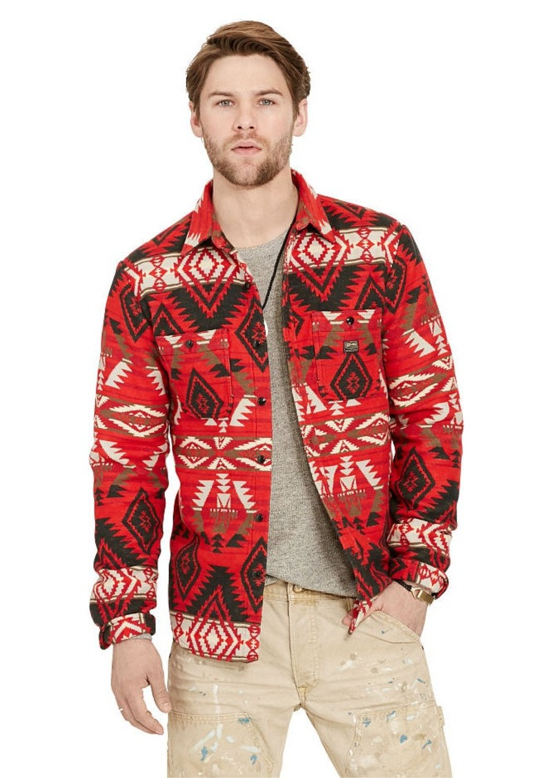 Ralph Lauren Southwestern Jacquard Shirt