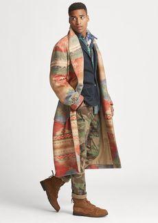 Ralph Lauren Southwestern Wrap Coat