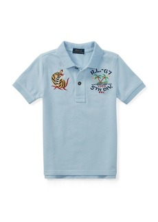Ralph Lauren Souvenir Cotton Mesh Polo