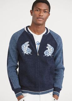Ralph Lauren Souvenir Full-Zip Sweater