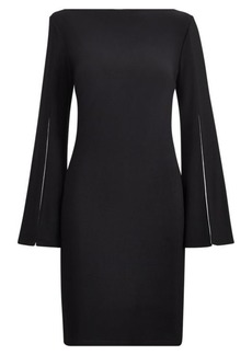 Ralph Lauren Split-Sleeve Jersey Dress