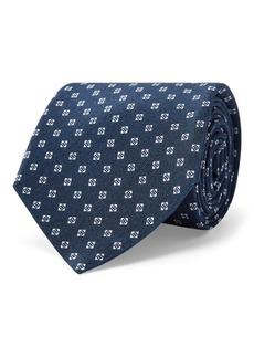 Ralph Lauren Square-Print Silk Tie