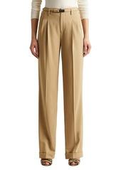 Ralph Lauren Stamford Wool Crepe Pants