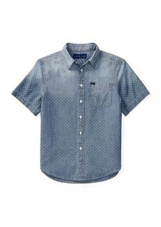 Ralph Lauren Star Cotton Chambray Shirt