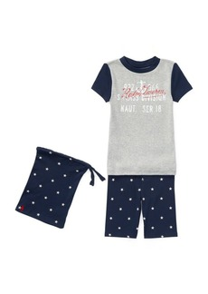 Ralph Lauren Star Cotton Sleep Short Set
