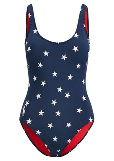 Ralph Lauren Star-Print One-Piece Swimsuit