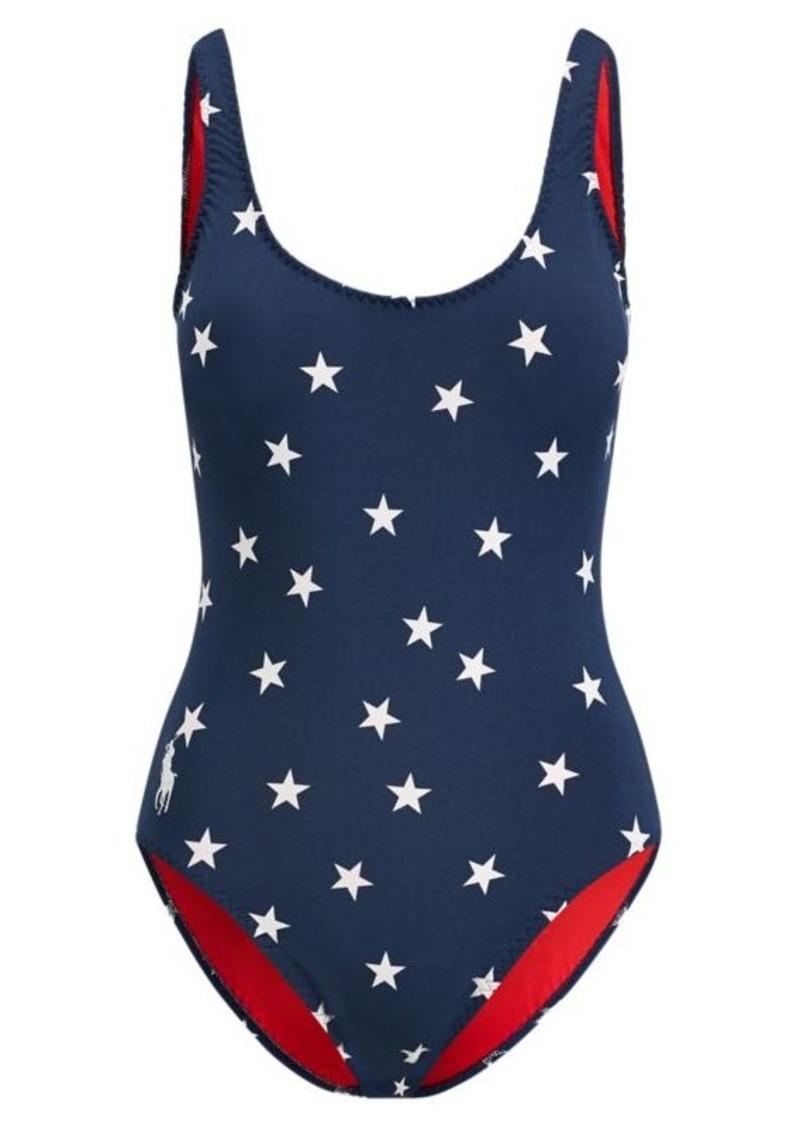 Ralph Lauren Star-Print One-Piece Swimsuit