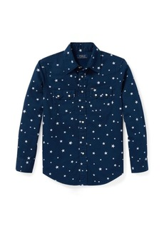 Ralph Lauren Star-Print Western Shirt
