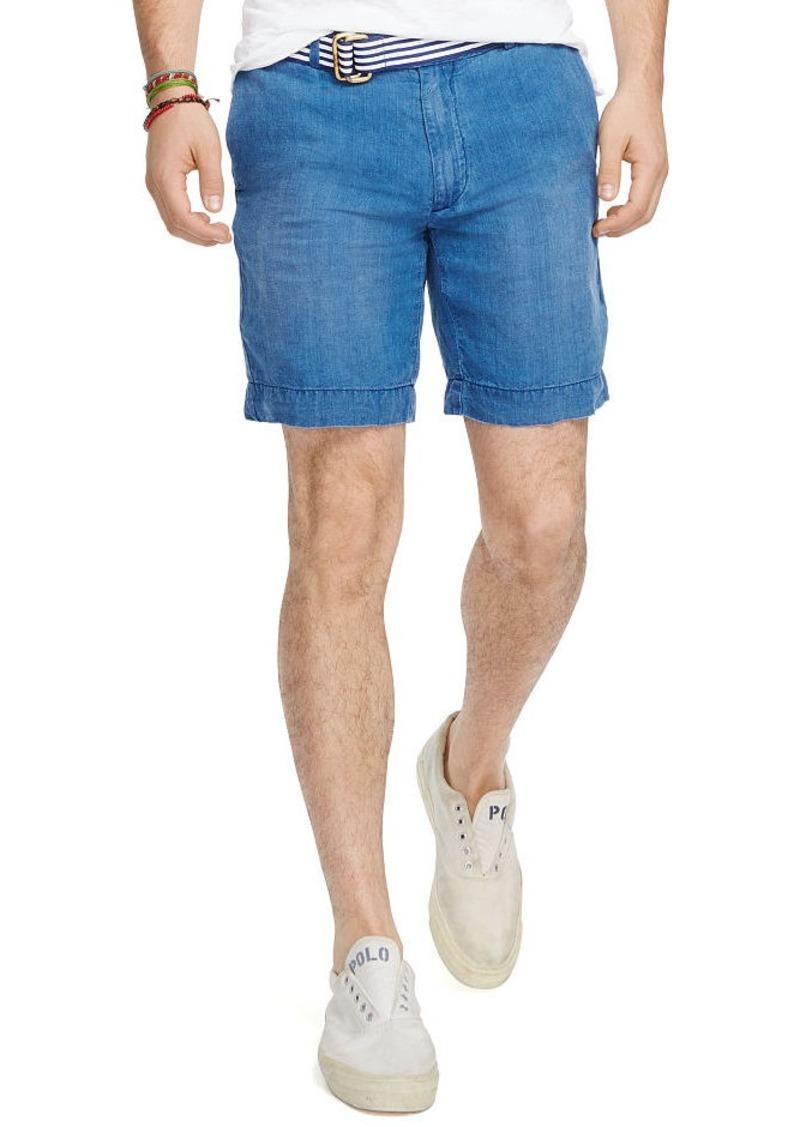 Ralph Lauren Straight-Fit Chambray Short