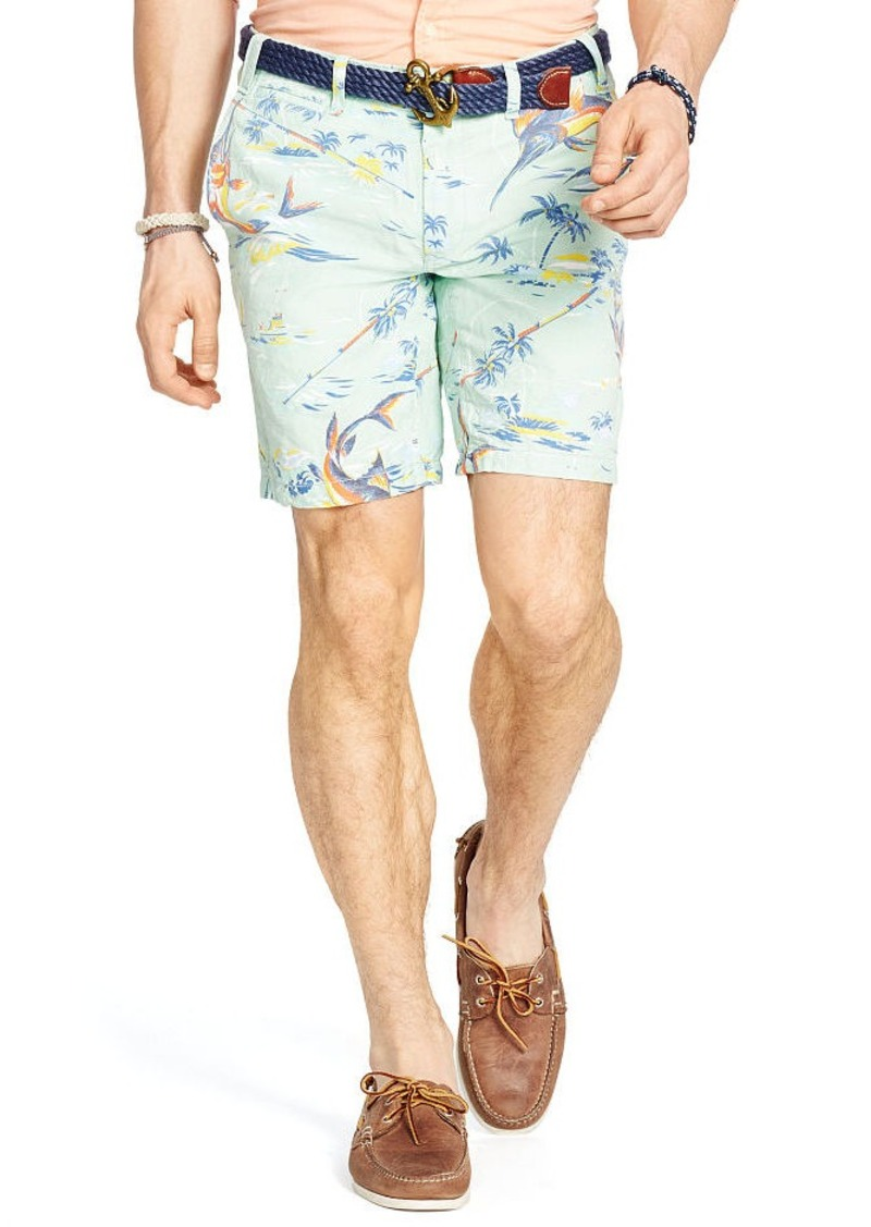 Ralph Lauren Straight-Fit Linen-Blend Short