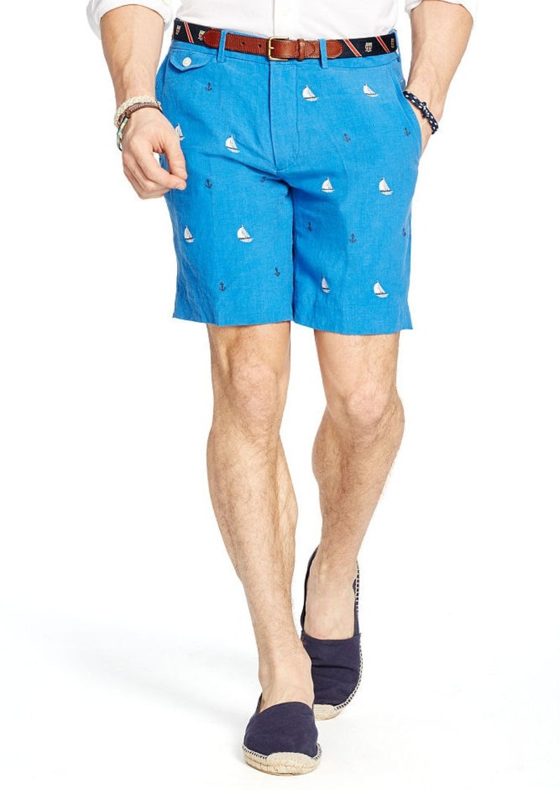 Ralph Lauren Straight-Fit Linen Short