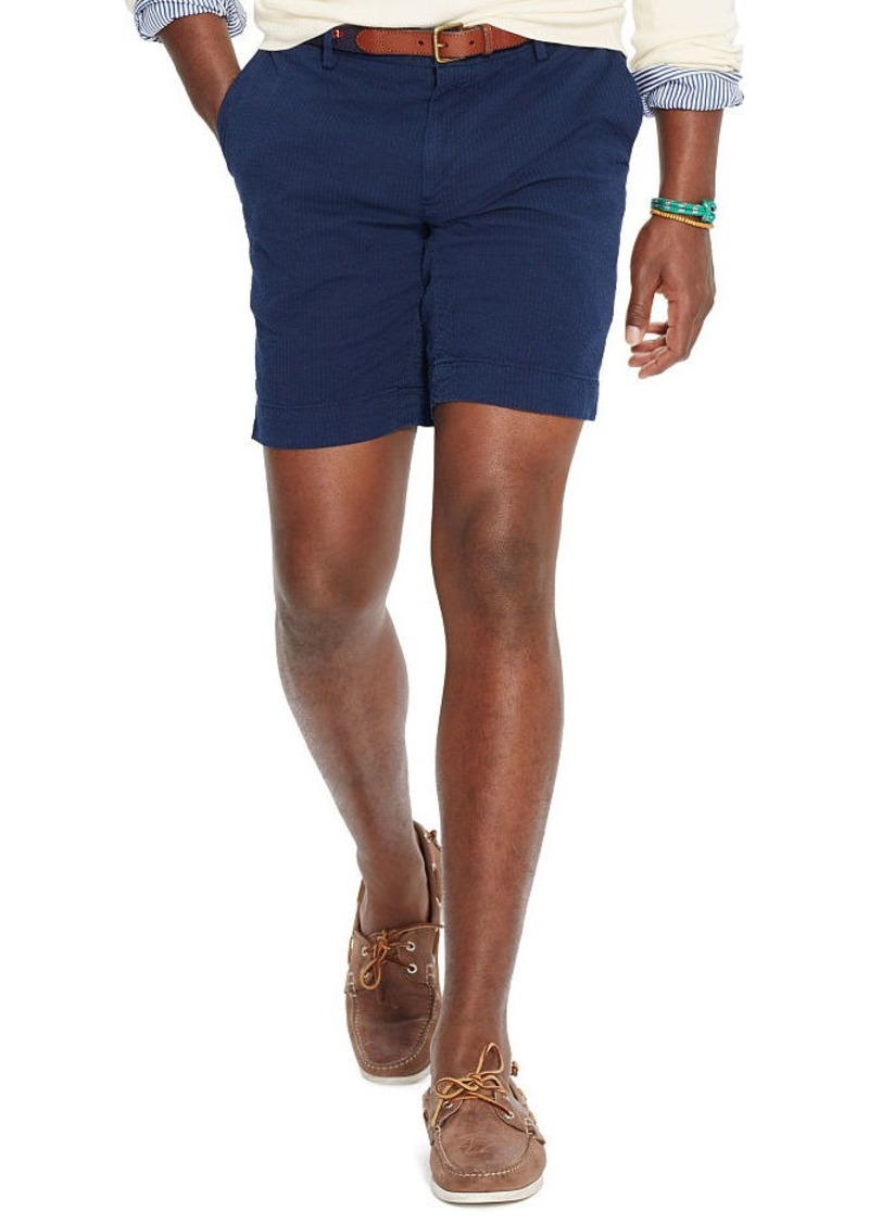 Ralph Lauren Straight-Fit Seersucker Short