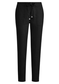 Ralph Lauren Straight Linen Pant