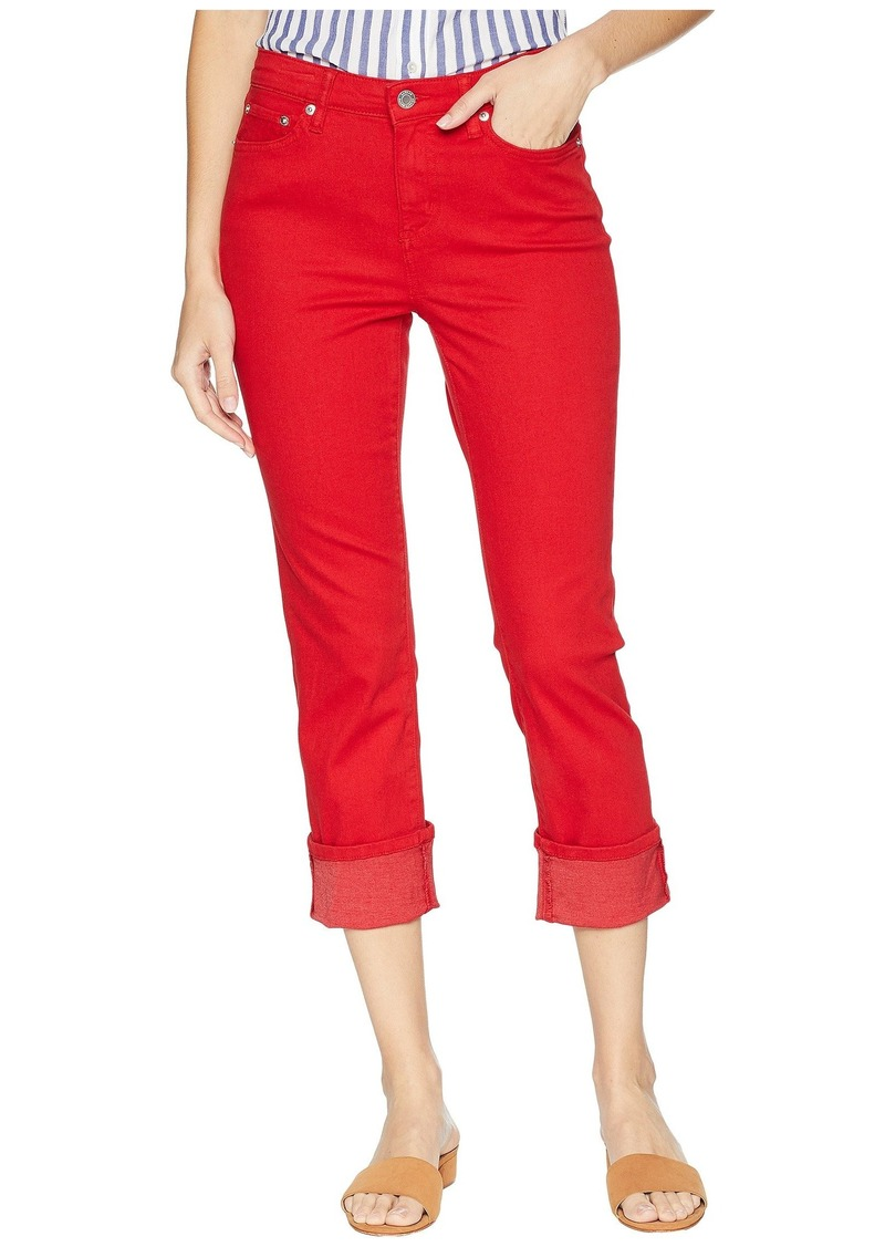 Ralph Lauren Straight Mid-Rise Jeans