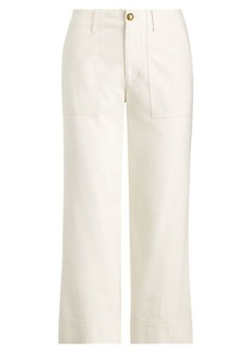 Ralph Lauren Straight Stretch Cotton Pant