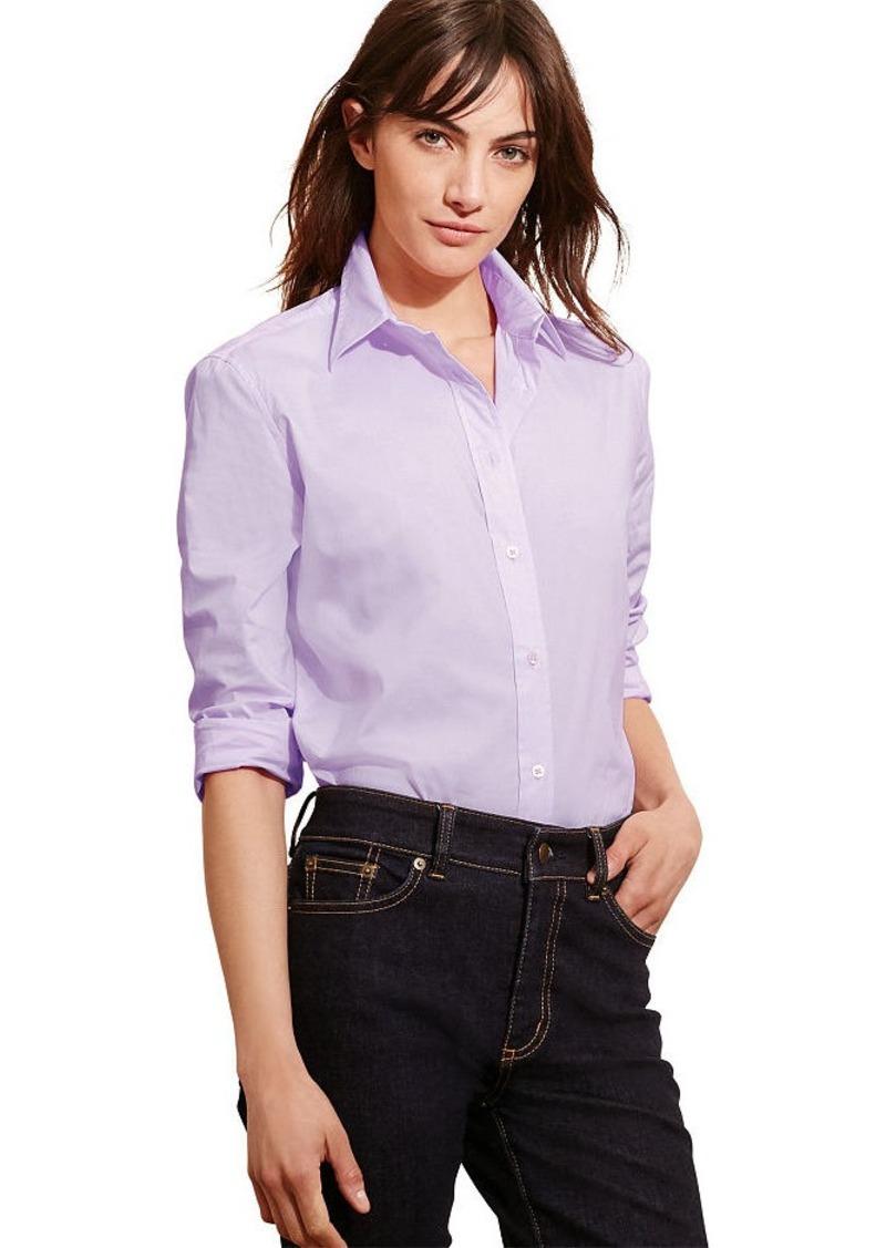 Ralph Lauren Stretch Broadcloth Shirt