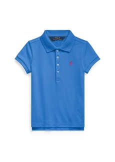 Ralph Lauren Stretch Cotton Mesh Polo