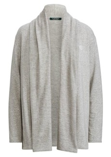 Ralph Lauren Stretch Cotton-Modal Cardigan