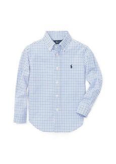 Ralph Lauren Stretch Cotton Poplin Shirt