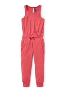 Ralph Lauren Stretch Cotton Romper