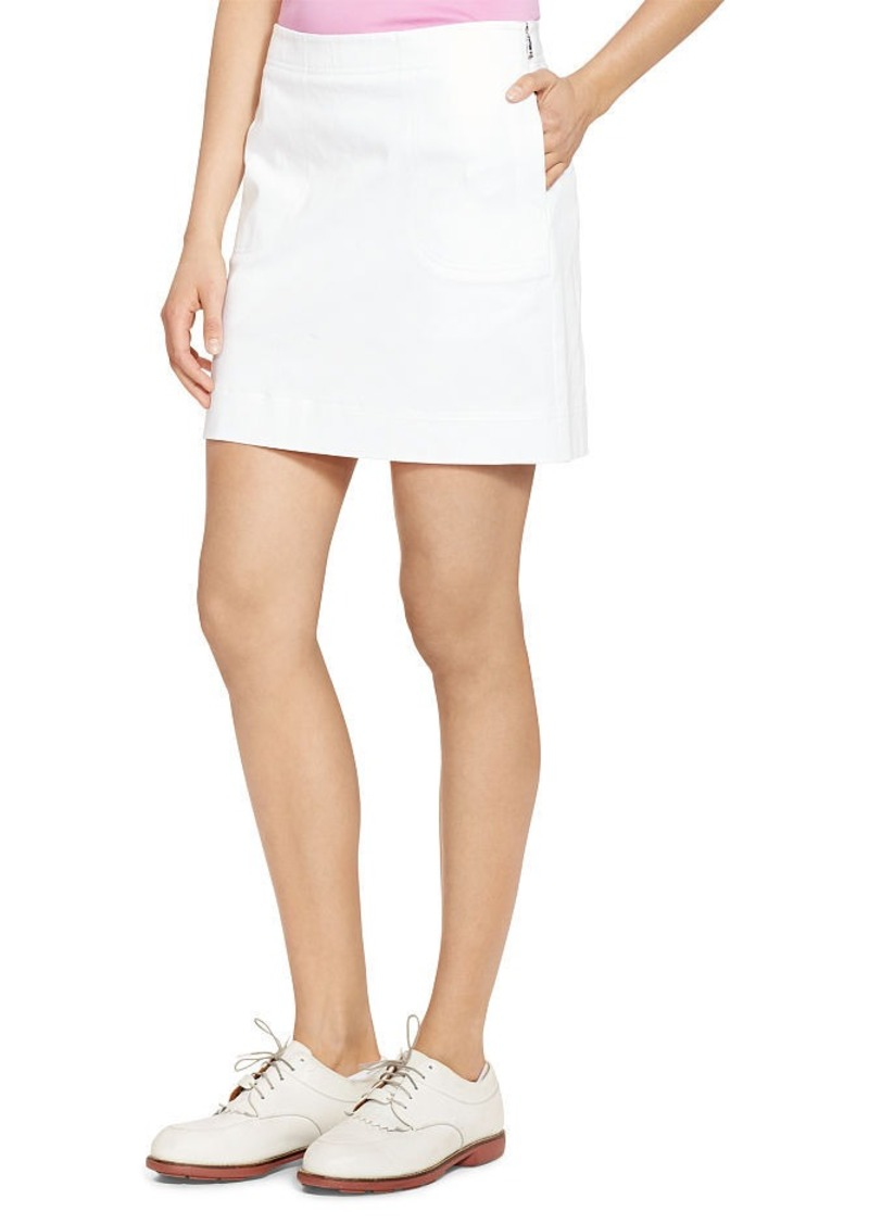 Ralph Lauren Stretch Cotton Skort