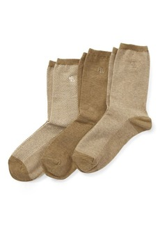 Ralph Lauren Stretch Cotton Sock 3-Pack